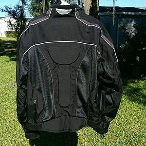 Olympia Motor Sports Jackets & Coats - Olympia MotoSport Airglide Padded Cordura Jacket